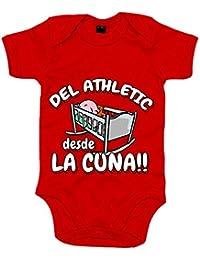 Body bebé del Athletic desde la cuna Bilbao fútbol 87f2f9be7b07b