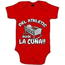 Body bebé del Athletic desde la cuna Bilbao fútbol fd7984922cfc7