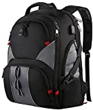 Mancro Travel Laptop Backpack,Business Backpack,Large Backpack Rucksack, 51 cm, Schwarz (Black)