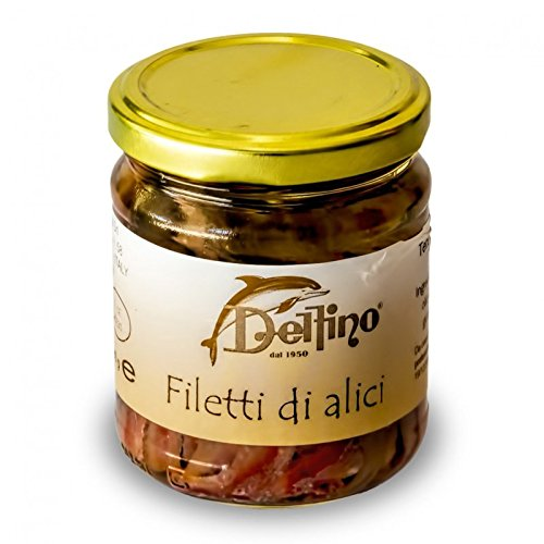 Filetti di alici di Cetara 212 ml