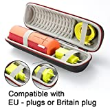 Harte Reise Lagerung Tragetasche für Ultimate Ears UE Boom 2 / UE Boom 1 Tragbarer Bluetooth Lautsprecher. Passend für Ladegerät und USB-Kabel