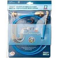 RST 1306 - Herramienta neumáticas para limpieza de desagües (plástico), color: azul