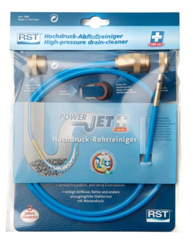 "RST Abflussreiniger ""Power Jet PLUS"", Blau, 1306"