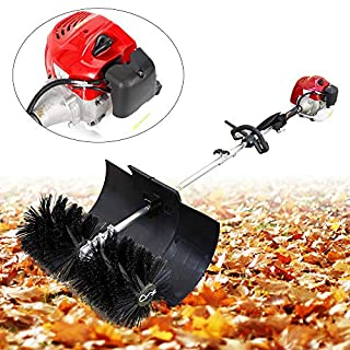 BTdahong 2.3HP 52CC Powerful Handheld Cleaning Sweeper Rake Electric Lawn Sweeper