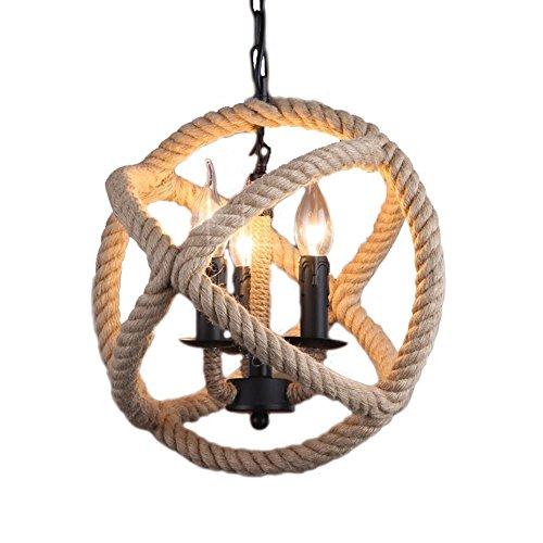 village-retro-industrial-candelabro-artesania-canamo-cuerda-iluminacion-lamparas-decoracion-3-light-