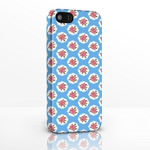 Kitsch Motif vintage style shabby chic Motif floral Coque arrière rigide pour la gamme Iphone. 3D Brillant Coques pour iPhone modèles., plastique, 2. Scottie Dogs on White Background, iPhone 4/4s 3. Red Roses on light Blue Background