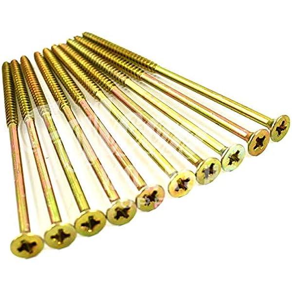 12g TIMBERFIX 360 6.0mm GOLD TORX PREMIUM /'CUTTER THREAD/' WOOD SCREWS