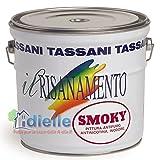 SMOKY TASSANI LT. 0,75 PITTURA SUPERLAVABILE ANTIFUMO ANTINICOTINA ANTIMACCHIA INODORE