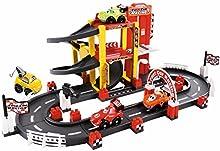 Smoby - Garaje y circuito f1 primera edad (3042)
