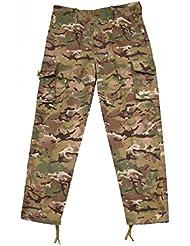 Kombat Kids Army Style Trousers BTP Camo Combat Pants
