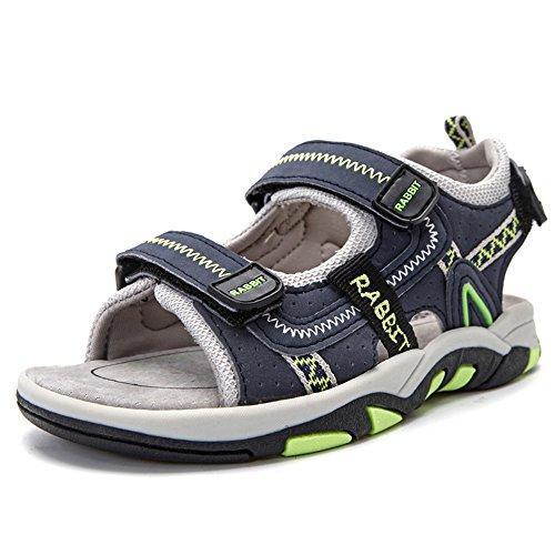 SITAILE Jungen Sommer Geschlossene Sandalen Outdoor Sports Schuhe Wanderschuhe Dunkelblau