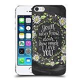 Head Case Designs Officiel Lily & Val I Love You Typographie Florale Étui Coque...