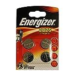 Energizer 2025 lithium knoopcel Verpakking van 4 stuks. CR2025 Niet te gebruiken