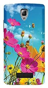 WOW 3D Printed Designer Mobile Case Back Cover For Lenovo A2010