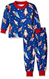 Saras Prints Toddler Boys Super Soft Relaxed Fit Pajama Set