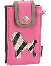 Poodlebags  entertainbag - wild poodle - pink, Portemonnaies femme