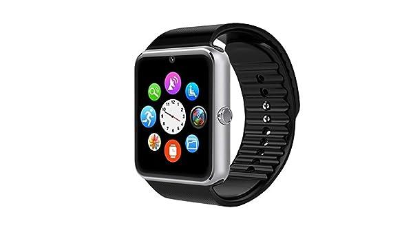 Montre connectée femme homme podomètre compteur de calorie Caméra tracker dactivité SMS Appel pour iOS & Android: Amazon.fr: High-tech