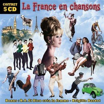 Dieu Crea Femme - La France en chansons - Coffret 5