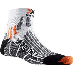 X-Socks, Calzini tecnici, Bianco (White/Green Lime), 35-38 3 spesavip