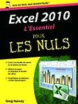 Excel 2010 L'essentiel Pour les nuls