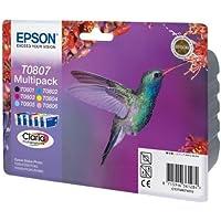 Epson T0807 Multipack Inkjet / getto d'inchiostro Cartuccia originale [Importato