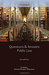Q & A Revision Guide: Public Law 2011 and 2012 (Law Questions & Answers)