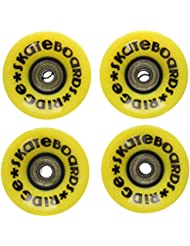 Ridge Cruiser - Ruedas de monopatín, color amarillo, tamaño 59mm