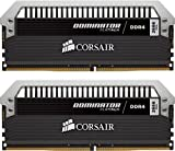 Corsair Dominator Platinum DDR4 8Go (2x4Go) 3466MHz C18 XMP 2.0 Kit de Mémoire Haute Performance avec RGB Airflow Ventilateur