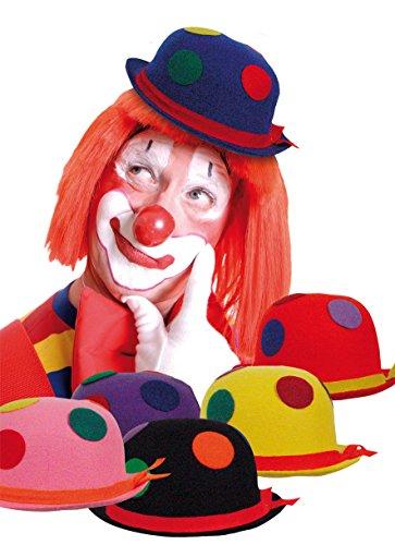 Boland 04006 Clownshut mit Tupfen für Erwachsene, sortiert