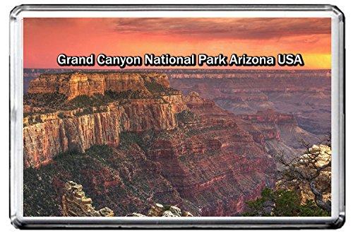 0247 GRAND CANYON NATIONAL PARK KÜHLSCHRANKMAGNET USA LANDMARKS, USA ATTRACTIONS REFRIGERATOR MAGNET