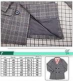 ZWXYA Jungenjacke Shirt zweiteilig zweireihig Kinderanzug Anzug lässig