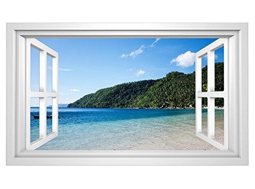 Wandbild Bilder Fensterblick
