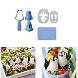 Y56 DIY Picknick-Küchen-Schneider-Sushi-Form Bento-Reis-Ball-Pinguin-Form-Schimmel Sandwich spaßige Kuchen Plätzchen Sandwich Schneidformen