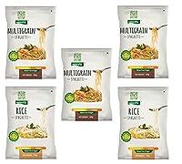 NutraHi Gluten Free Spaghetti Combo - 3 x Multigrain and 2 x Rice - 84gm Each