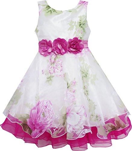 Braut- Schnüren Mit Blume Detailing Hochzeit Gr.116 (Braut Und Kleid)