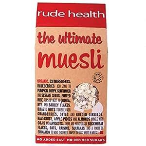 Rude Health Foods | Organic Ultimate Muesli | 1 x 500g