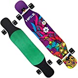 Best BAMBOU Longboard Skateboards - 1-1 Longboard Complete Deck, Bambou + érable Drop Review