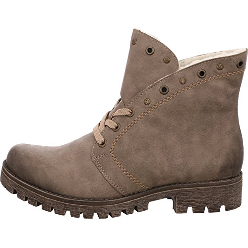 Rieker Ladies 785b9 Boots 64 ° Ciottolo