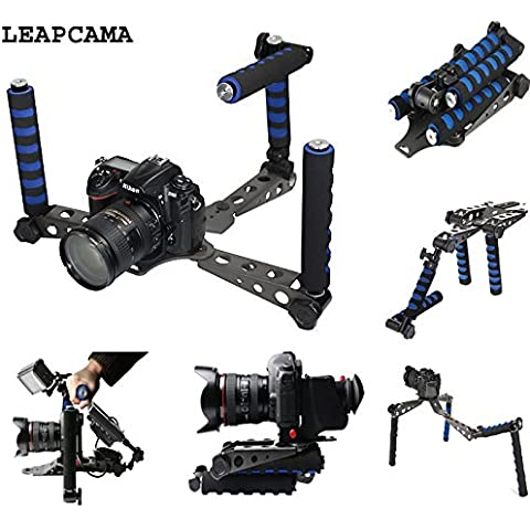LEAPCAMA (TM) DSLR ImpiantoDigitale Singolo Lente Riflesso Rig Movie Kit