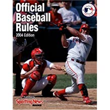 Official Baseball Rules 2004 Edition