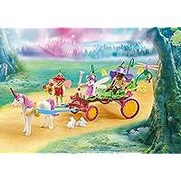 Playmobil Children Fairies With Unicorn Carriage Building Set 9823