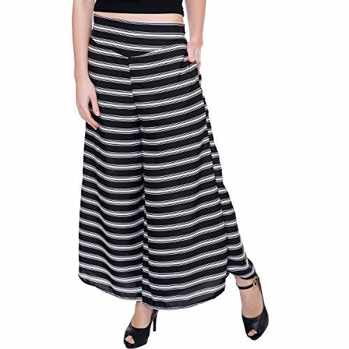 TASHI Printed Poly Crepe Stylish Plazzo Pants for ...