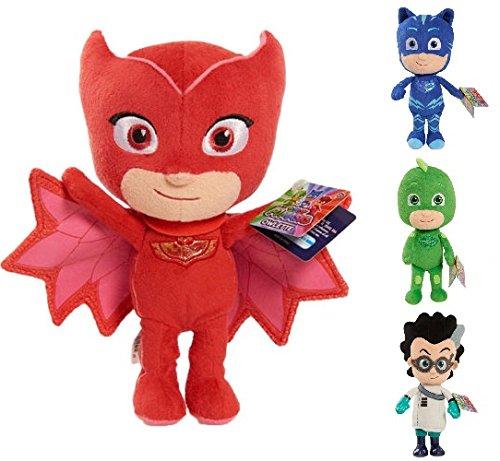 PJ Mask Soft Plush Toy Gekko Owlette Catboy - Owlette