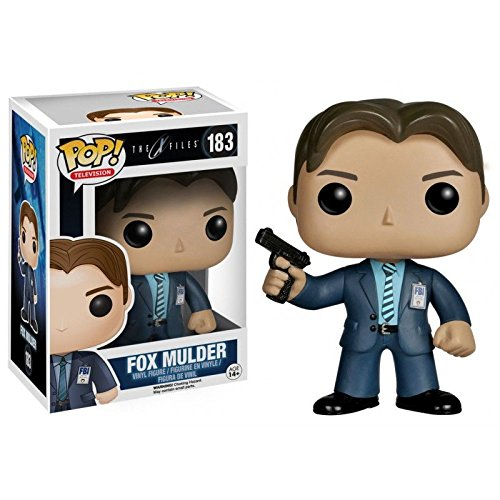 FunKo Pop TV X Files Fox Mulder figuras de juguete para nios Multi