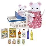 Sylvanian Families 2401  - Juguetes de ratones: escena supermercado...