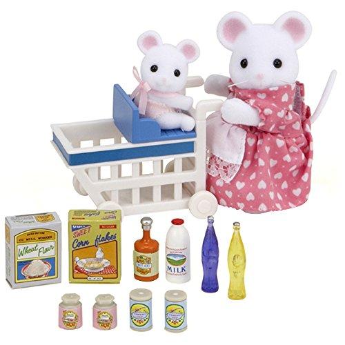 Sylvanian Families 2401 - Juguetes de ratones: escena supermercado [Importado de Alemania]