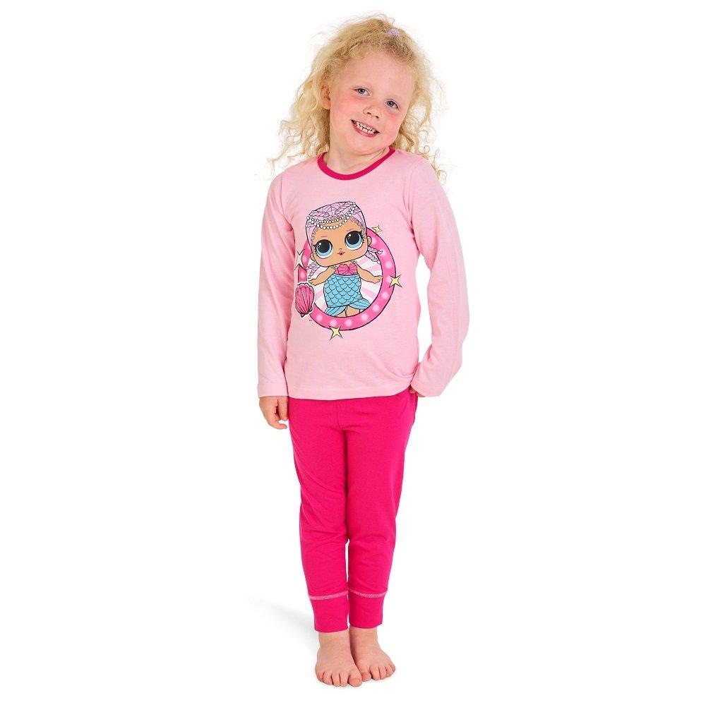 negozio online bb540 ce3b4 L.O.L Surprise Pigiama per Bambine in Cotone Morbido Lil Sisters Bambole -  FACESHOPPING