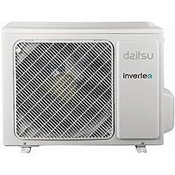Daitsu Respirio ASD12KI- Kit Clima Monosplit, R32, 12000 btu, A++/A+