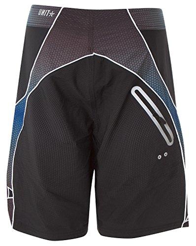 UNI-T - Short de bain - Homme noir Schwarz 30 Schwarz