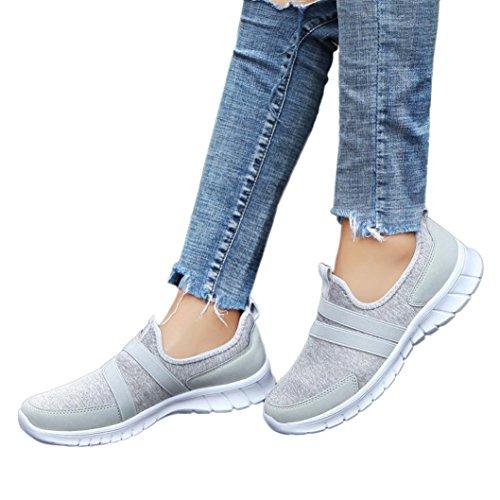 Baskets Unisexe Sneakers sans Lacets Femme Homme Chaussures...
